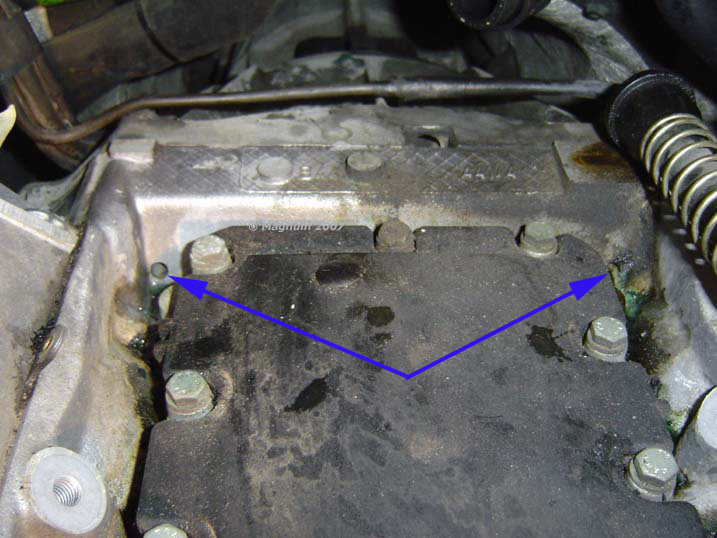 Coolant leak @ rear of motor - Page 2